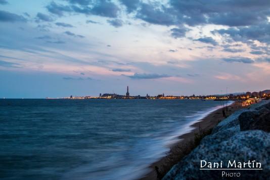 Barcelona desde la costa